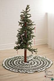 creative ideas for christmas tree skirts southern living