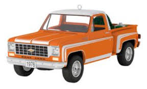 hallmark keepsake ornaments all american trucks