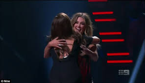 Comes The Blind Fury The Voice U0027s Delta Goodrem Turns Her Chair For Singer Grace Daily