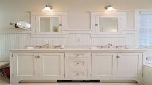 beadboard bathroom cabinets