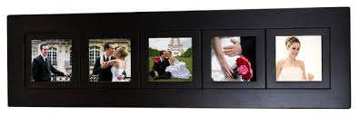 5 X 5 Photo Album 5 Opening Multi Picture Collage Frame With Five 5x5 Photo Openings