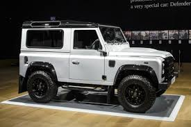 jaguar land rover defender land rover defender number 2million makes 400k at auction auto