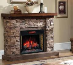 Fireplace Electric Heater Stone Fireplace Electric Stone Electric Fireplace Heater