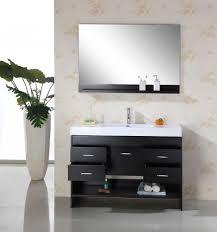 Refurbished Bathroom Vanity by Bathroom Vanity Remodel Ideas Brown Wood Modern Double Sink White