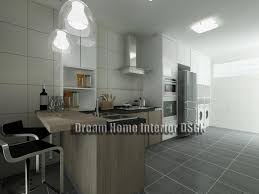 5 rooms flat design warm home design