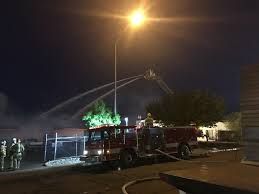 where do you put a st news short fire crews work to put out fire at frito lay warehouse