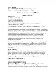 Office Manager Resume Sample by Sample Resume For Insurance Account Manager Key Template Accou