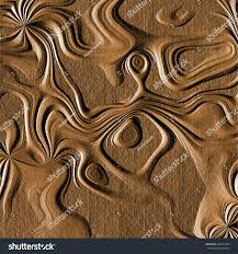 abstract wood carving abstract generated wood carving texture brown stock illustration
