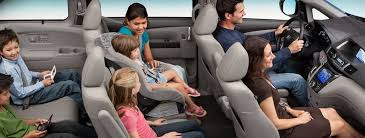 how many seats does a how many passengers does the honda odyssey hold