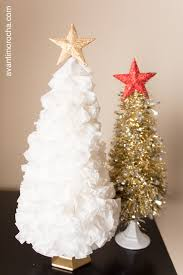 diy christmas tree coffee filter tinsel avanti morocha