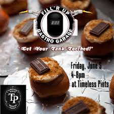 cuisine r up fill r up gastro garage timeless pints brewing company