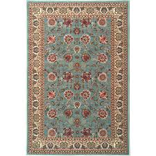 Aqua Runner Rug Ottomanson Ottohome Collection Style Rug Rugs