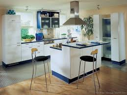 Kitchen Design Gallery Photos 156 Best Blue Kitchens Images On Pinterest Blue Kitchen Cabinets
