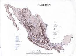 Map Of Rivers Mexico Maps Perry Castañeda Map Collection Ut Library Online
