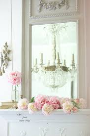 Hydrangea Hill Cottage French Country Decorating Mothers Day Mantel With Balsam Hill French Country Cottage