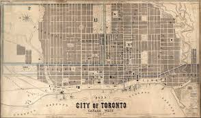 Map Of Toronto Canada by Historical Maps Of Toronto 1857 Fleming Ridout U0026 Schreiber Plan