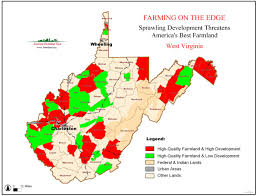 Virginia State Map American Farmland Trust Resources Farming On The Edge Report