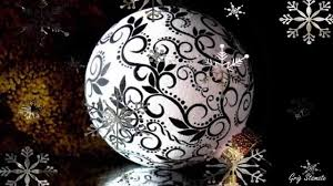 black and white christmas decorating ideas youtube