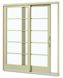 sliding glass french doors all fiberglass sliding patio door with custom horizontal grids