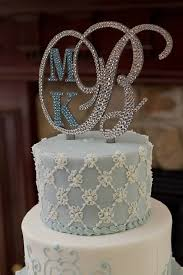monogram wedding cake topper monogram wedding cake topper initial any letter