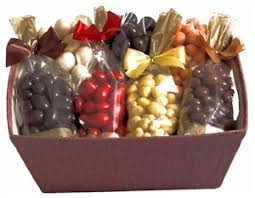 chocolate fruit nut gift basket riverside kitchen