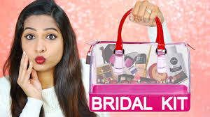 bridal makeup set indian bridal makeup kit the ultimate guide shrutiarjunanand