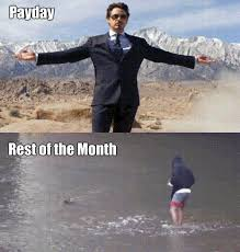 Me On Payday Meme - payday rest of the month gif on imgur