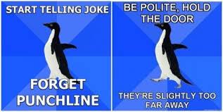 Socially Awkward Penguin Memes - socially awkward internet how memes create community online in