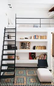 bedroom minimalist white loft beds 15 clever loft beds with