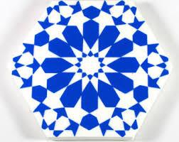 French Blue And White Ceramic Tile Backsplash Bathroom Tiles Etsy