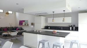 salon avec cuisine ouverte deco salon cuisine ouverte pour cuisine salon idee deco salon