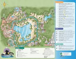 Map Of Orlando Theme Parks by Typhoon Lagoon Map Kennythepirate Com