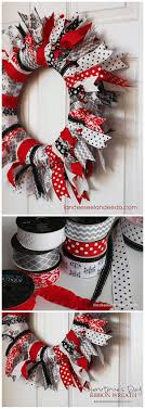 best 25 ribbon wreaths ideas on diy wreath hanger
