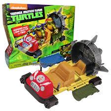 playmates teenage mutant ninja turtles tmnt vehicle set rapid