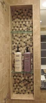 bathroom shower niche ideas best 25 shower shelves ideas on tiled bathrooms