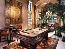 Pool Room Decor Billiard Room With Contemporary Pool Table Decorating Your