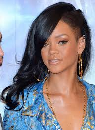 curly shaved side hair 50 best rihanna hairstyles