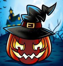 how to draw a halloween pumpkin step by step halloween seasonal