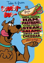 scooby doo wrapping paper scooby doo sandwich birthday card greeting cards hallmark