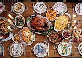 a new take on the traditional thanksgiving feast american