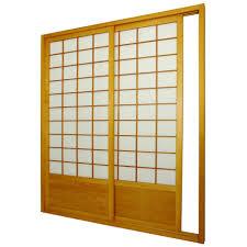 pretty light brown sliding panel ceiling mount room divider in