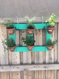 Diy Vertical Herb Garden Enter Blog U2014 Posey U0027s Corner
