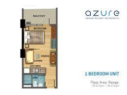 1 bedroom condo floor plans azure urban resort residences floor plans century properties
