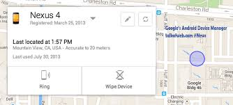 android locator to offer official android device locator