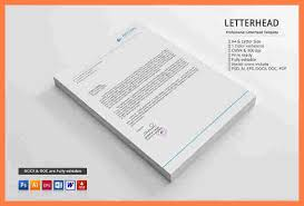 4 personal letterhead template word company letterhead