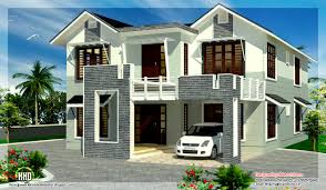 2800 square feet sloping roof 4 bedroom house kerala home decor
