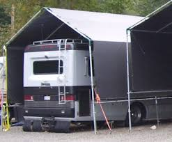 Rv Awning Covers All Weather Shield Portable Carport Shelter Kits Hiscoshelters