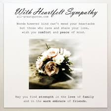 condolence cards with heartfelt sympathy loss of loved one free sympathy cards