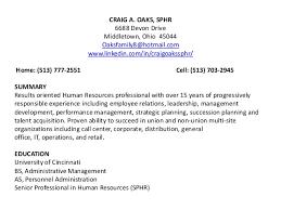 Hr Manager Resume Summary Hr Executive Resume