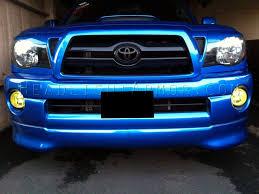 toyota tacoma hid fog lights 05 09 toyota tacoma fog lights kit dash z racing